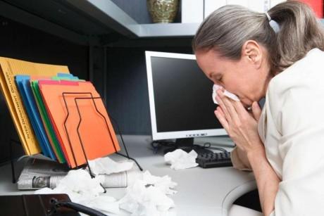 Аллергия на работе - частое явление
