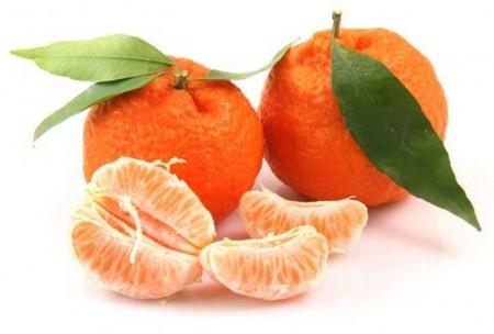 Мандарины богаты витамином C