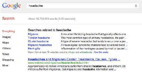 Google улучшил поиск по «медицинским» запросам