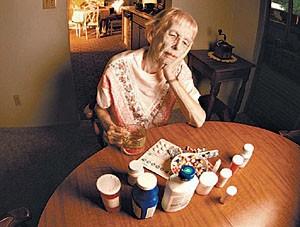 Применение лекарств в пожилом возрасте