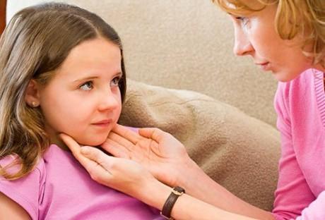 Воспаление лимфатических узлов у ребенка