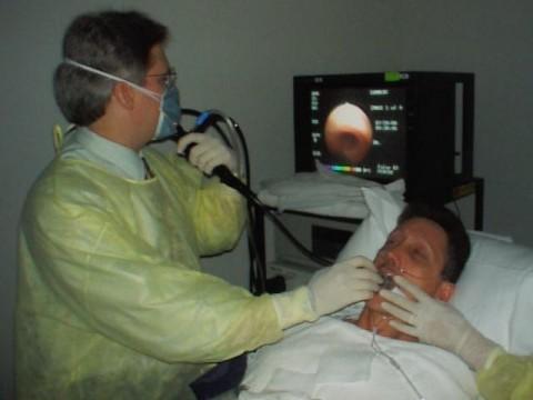 Гибкая бронхоскопия легких
