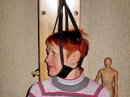 вытягивание шеи