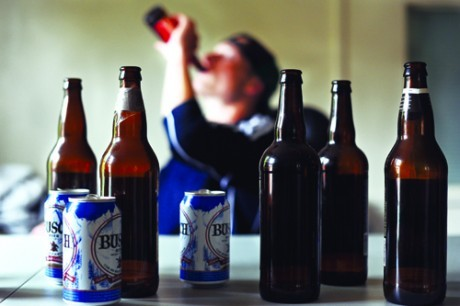 Алкоголь сильно влияет на тяжесть заболевания