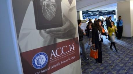 Новые препараты, снижающие уровень холестерина, представлены на конференции Американской коллегии кардиологов в Вашингтоне.