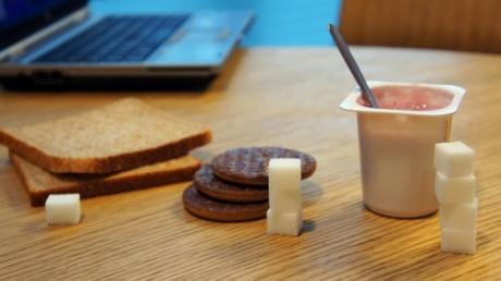 """""""Скрытый"""" сахар содержится во многих продуктах питания"""