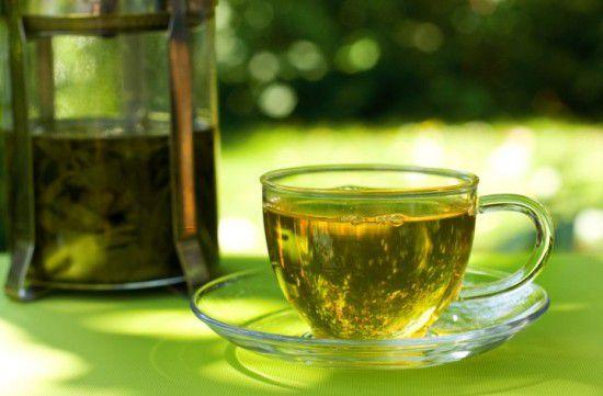 Зеленый чай улучшает выносливость, что способствует активному похудению