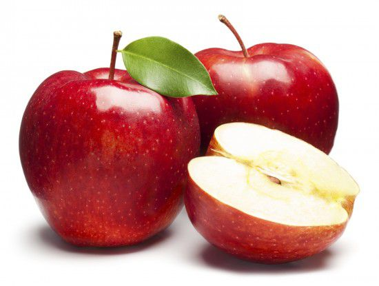 Употребление яблок снижает число посещений фармацевтов