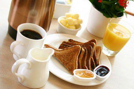Утренний прием пищи положительно сказывается на здоровье