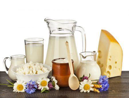 Молочные продукты на завтрак позволят дольше оставаться сытыми