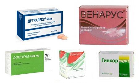 Таблетки и капсулы от геморроя
